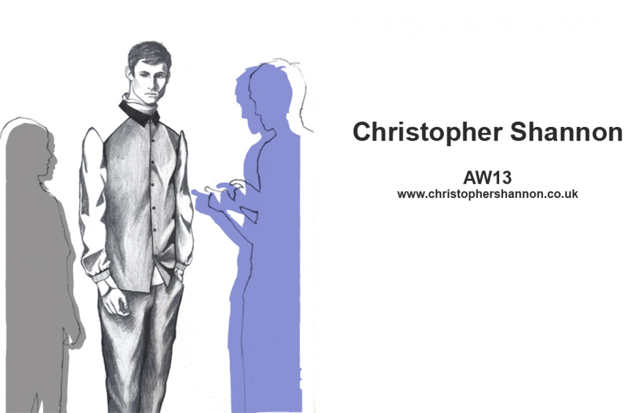 Christopher Shannon AW13_Illustration4