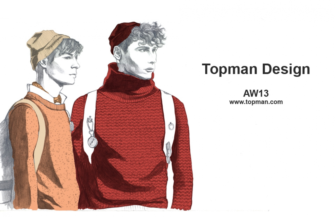 Topman Design AW13_Illustration1