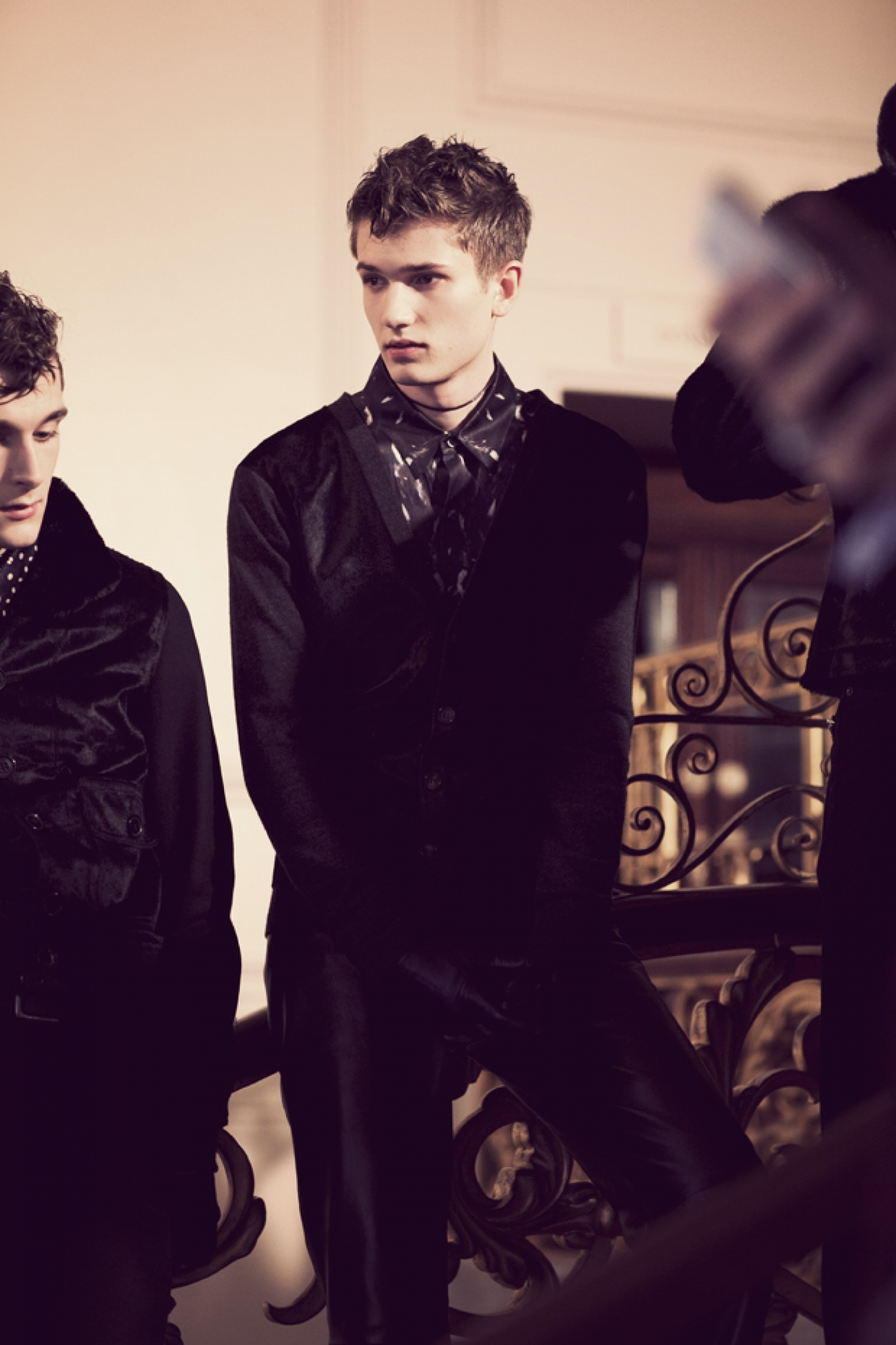 Topman Feb12_Backstage4